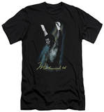 Muhammad Ali - Raised Fists (slim fit) T-Shirt