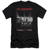 Pet Semetary - Cat Poster (slim fit) T-Shirt