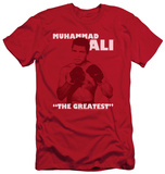 Muhammad Ali - Ready To Fight (slim fit) T-Shirt