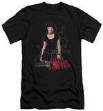 NCIS - Goth Crime Fighter (slim fit) Shirts