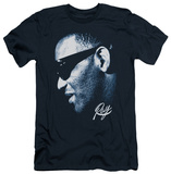 Ray Charles - Blue Ray (slim fit) T-shirts