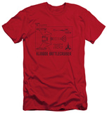 Star Trek - D7 Diagram (slim fit) Shirts