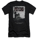 Psycho - House Poster (slim fit) T-shirts