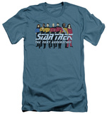 Star Trek - Line Up (slim fit) T-shirts