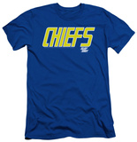 Slap Shot - Chiefs Logo (slim fit) Shirts
