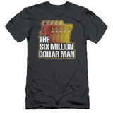 The Six Million Dollar Man - Run Fast (slim fit) T-shirts
