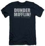 The Office - Dunder Mifflin Distressed (slim fit) T-Shirt