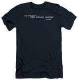 The Good Wife - Law Offices (slim fit) T-Shirt