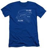 Star Trek - Phaser Plans (slim fit) T-shirts