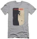 Scarface - Vintage Poster (slim fit) T-Shirt