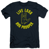 Star Trek - Live Long Hand (slim fit) Shirts