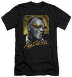 Ray Charles - Golden Glasses (slim fit) T-shirts