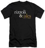 Rizzoli & Isles - Logo (slim fit) Shirt