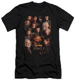 The Hobbit: An Unexpected Journey - Dwarves Poster (slim fit) T-Shirt