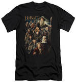 The Hobbit: An Unexpected Journey - Somber Company (slim fit) T-Shirt