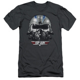 Top Gun - Iceman Helmet (slim fit) T-shirts