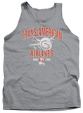 Tank Top: Airplane - Trans American T-Shirt