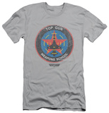 Top Gun - Flight School Logo (slim fit) T-Shirt
