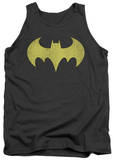 Tank Top: Batman - Batgirl Logo Distressed Tank Top