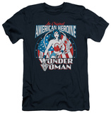 Wonder Woman - American Heroine (slim fit) T-Shirt