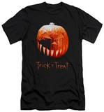 Trick R Treat - Pumpkin (slim fit) T-shirts