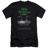 War Of The Worlds - Attack Poster (slim fit) T-Shirt
