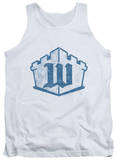 Tank Top: White Castle - Monogram Tank Top