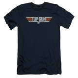 Top Gun - Distressed Logo (slim fit) T-Shirt