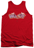 Tank Top: Woody Woodpecker - Sketchy Bird Tank Top