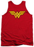 Tank Top: Wonder Woman - Wonder Woman Logo Dist Tank Top