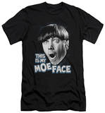 The Three Stooges - Moe Face (slim fit) T-shirts