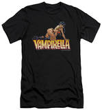 Vampirella - Title Crawl (slim fit) Shirts