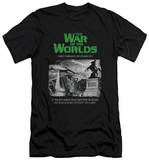 War Of The Worlds - Attack People Poster (slim fit) T-shirts