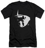 Watchmen - Mask And Symbol (slim fit) Shirts