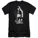 Xena: Warrior Princess - Don't Mess With Me (slim fit) Shirts