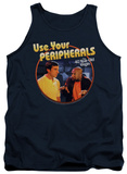 Tank Top: 40 Year Old Virgin - Use Your Peripherals T-shirts