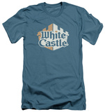 White Castle - Torn Logo (slim fit) T-shirts