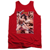 Tank Top: Wonder Woman - Wonder Woman Panels Tank Top