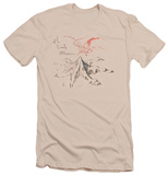 The Hobbit - Lonely Mountain (slim fit) T-shirts