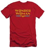 Wonder Woman - Wonder Woman Logo (slim fit) T-shirts