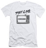 They Live - Consume (slim fit) Shirts
