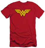Wonder Woman - Wonder Woman Logo Dist (slim fit) T-shirts