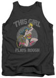 Tank Top: Wonder Woman - Plays Rough Tank Top