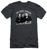 The Three Stooges - Hello Again (slim fit) T-shirts