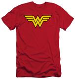 Wonder Woman - Wonder Woman Logo (slim fit) T-Shirt
