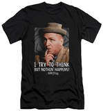 The Three Stooges - Try To Think (slim fit) T-shirts
