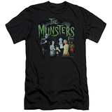 The Munsters - 1313 50 Years (slim fit) T-shirts
