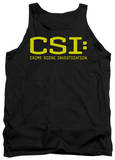 Tank Top: CSI - Logo Tank Top