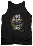 Tank Top: Batman Arkham Asylum - Crazy Lips Tank Top