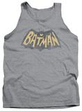 Tank Top: Batman Classic TV - Show Logo Tank Top